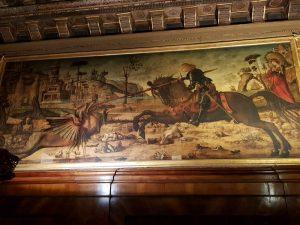 La Scuola Dalmata di Venezia, Vittore Carpaccio, San Giorgio uccide il drago