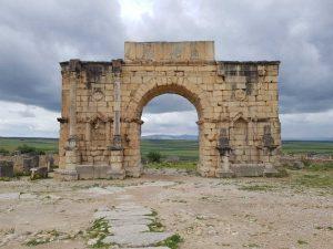 Arco di trionfo a Volubilis