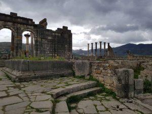 Basilica e foro, Volubilis