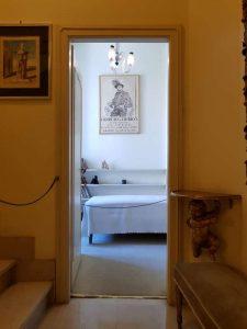 Casa de Chirico, la camera del Maestro