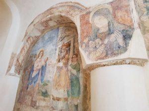 Affreschi della navata destra