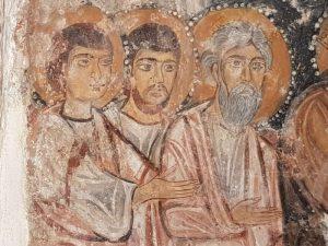 Lavanda dei piedi - dettaglio dei discepoli