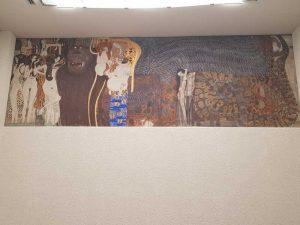 Fregio di Beethoven, seconda parete, le Forze ostili