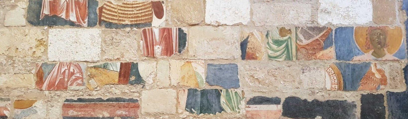 Abbazia di Santa Maria di Cerrate, chiesa - parete-puzzle