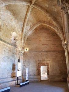 Castel del Monte, sala al primo piano
