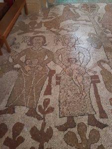 I patriarchi Abramo ed Isacco con le anime degli eletti