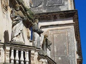 Sculture del propileo di piazza Duomo