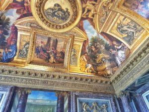 Il soffitto del Salone di Venere, Appartamento del Re
