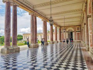 Visitare Versailles, Grand Trianon, Loggia