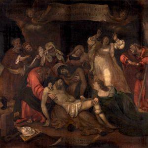 Lorenzo Lotto, Compianto sul Cristo morto @ wikipedia