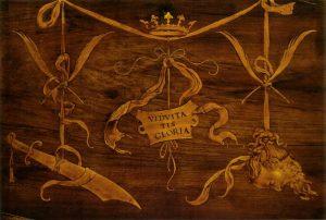 Lorenzo Lotto, coperto della tarsia di Giuditta ed Oloferne @ wikipedia