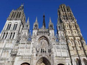 Cattedrale di Notre-Dame - dettaglio della facciata