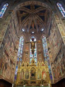 Cappella maggiore della chiesa di santa Croce