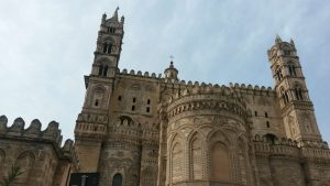 Cattedrale, fronte absidale