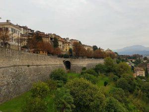 Visitare Bergamo. Le mura