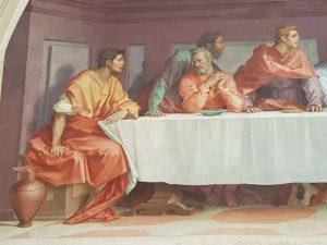 Andrea del Sarto, Cenacolo di san Salvi - dettaglio