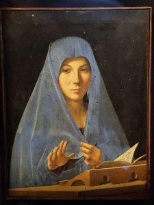 Visitare Palermo, Galleria Regionale della Sicilia, Antonello da Messina, Annunziata