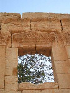 Tempio di Baalshamin - dettaglio della decorazione