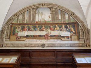 Cenacoli di Firenze, Perugino, Cenacolo di Fuligno