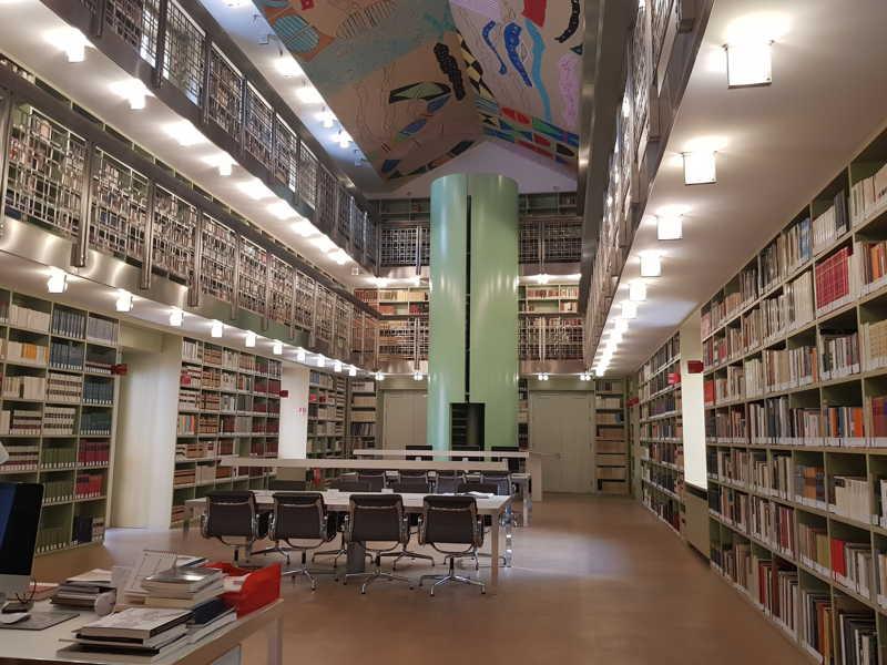 Palazzo Branciforte, Sala di lettura della Biblioteca
