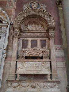 Basilica di santa Croce, Bernardo Rossellino, Monumento funebre di Leonardo Bruni