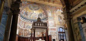 Chiese di Trastevere. Santa Maria in Trastevere, abside