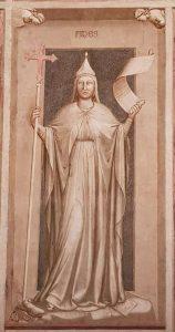 Virtù e Vizi di Giotto, Fede