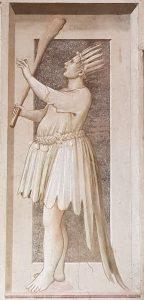 Virtù e Vizi di Giotto, Stoltezza