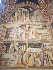 Taddeo Gaddi, Cappella Baroncelli, Storie della Vergine