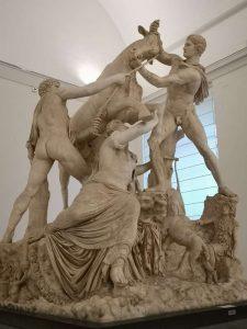 Toro Farnese - Giardino