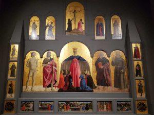 Museo Civico di Sansepolcro, Piero della Francesca, Polittico della Misericordia