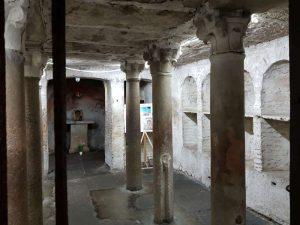 Chiesa di santa Maria in Cosmedin, cripta