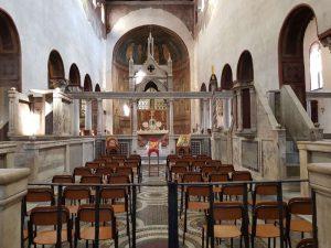 Chiesa di santa Maria in Cosmedin, schola cantorum