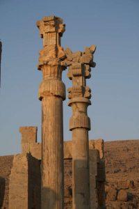 Apadana, colonne