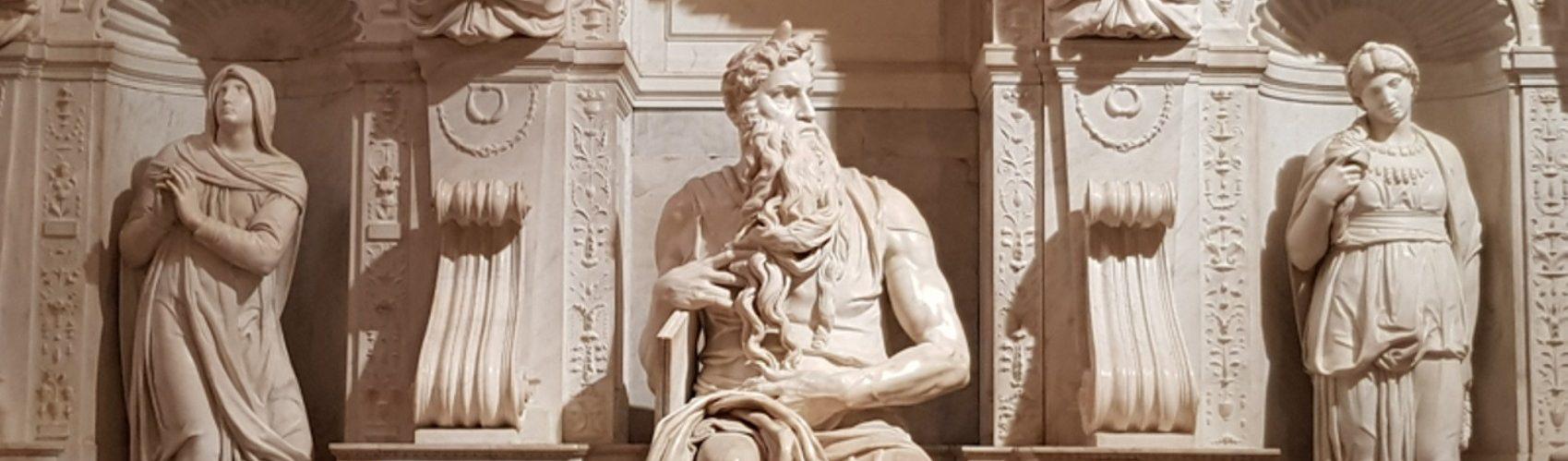 Michelangelo Buonarroti, Monumento funebre di Giulio II