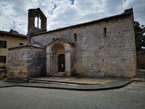 Chiesa di santa Maria Assunta a San Quirico d'Orcia