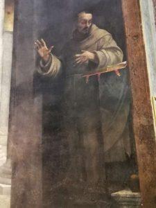 Cappella Borgherini, Sebastiano del Piombo, San Francesco