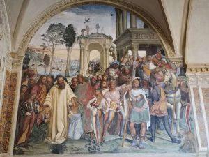 Benedetto riceve Mauro e Placido