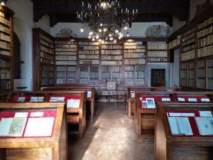 Biblioteca Rilliana nel castello dei Conti Guidi