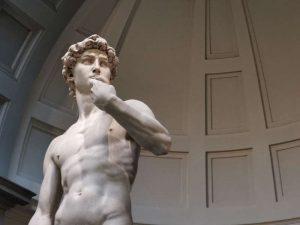 David di Michelangelo, dettaglio