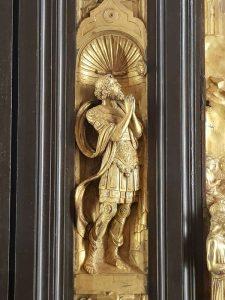 Porta del Paradiso, una delle statue della cornice