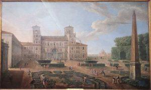 Paolo Anesi, Veduta di Villa Medici, 1764