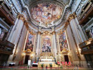 Chiesa di Sant'Ignazio a Roma, il presbiterio